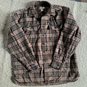 L.L. Bean Chamois Cloth Shirt